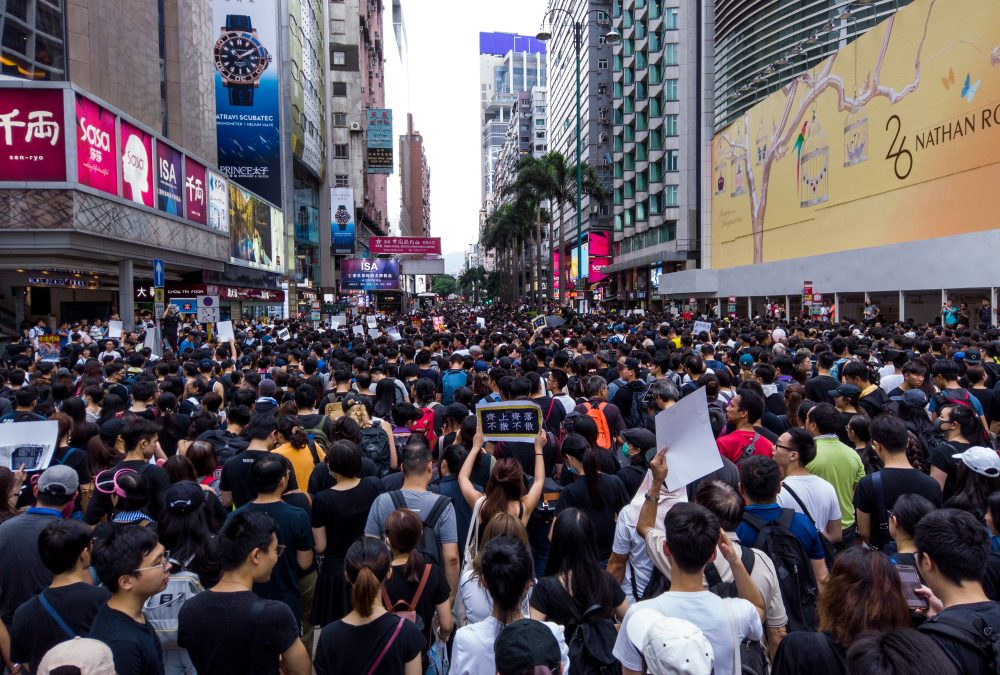 The Two Global Forces face off in Hong Kong